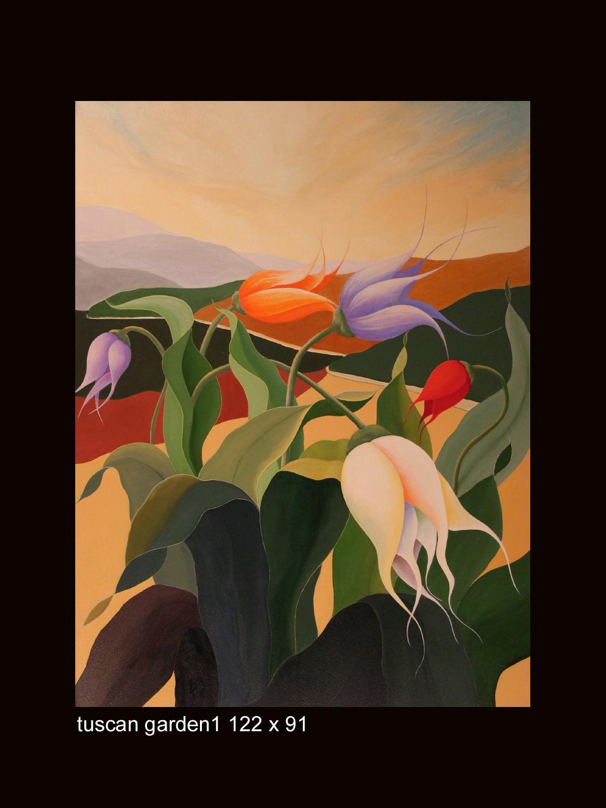 acrylic_tuscan garden1_122x91a