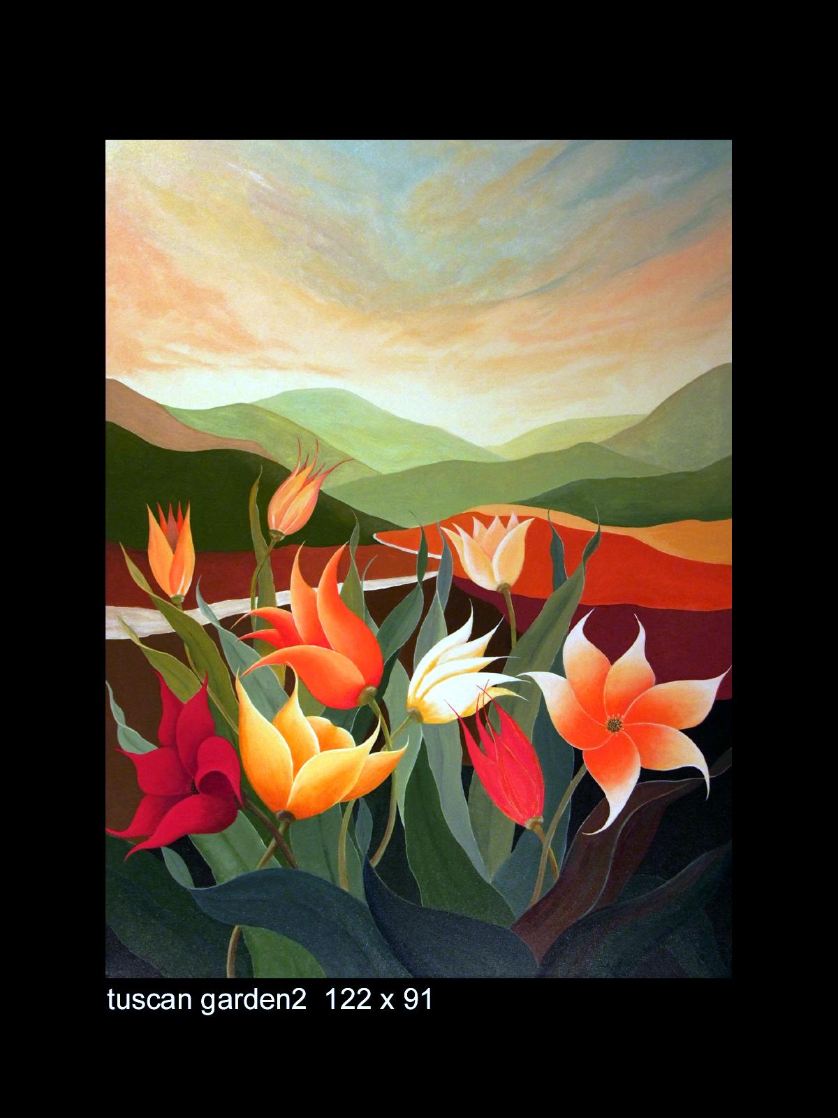 acrylic_tuscan garden2_122x91a